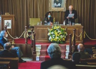 Toma de posesión del nuevo Presidente y Junta de Gobierno y Acto de Inauguración del Curso Académico 2021 en la Real Academia de Medicina de Andalucía Oriental